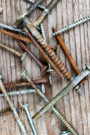 How To Remove Rusted Screws