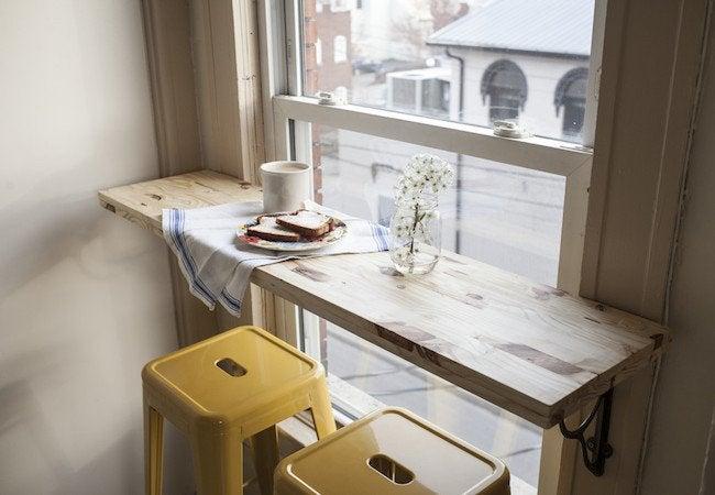 DIY Breakfast Bar Table