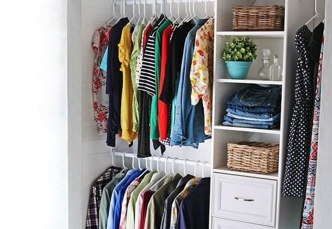 Small Closet Ideas - DIY Custom Closet