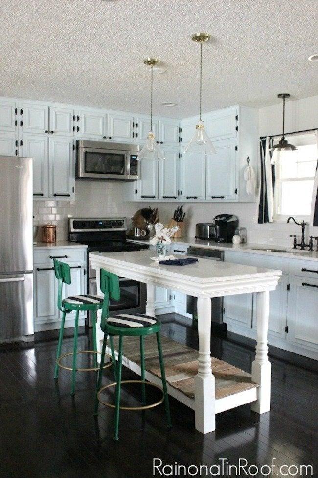 DIY Kitchen Island Table