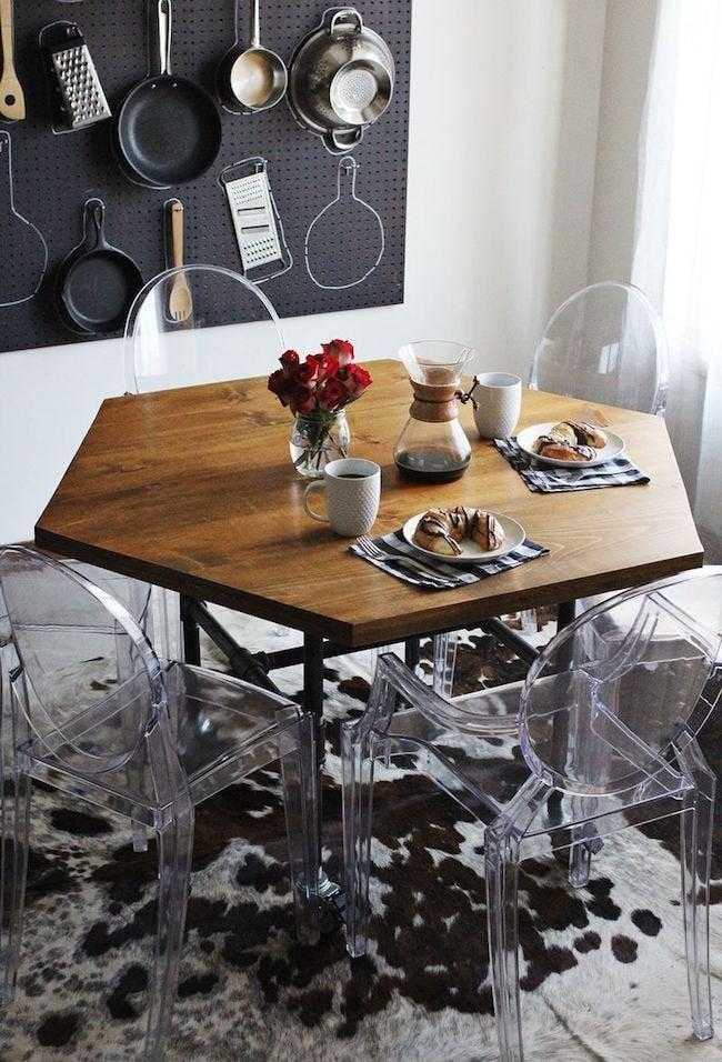 DIY Octagonal Table