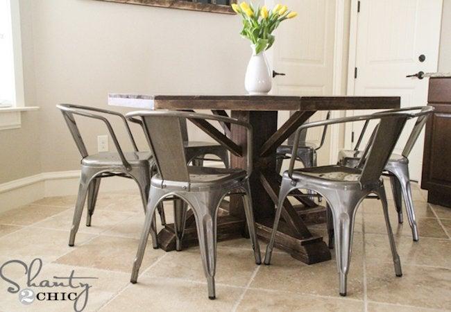 DIY Round Table