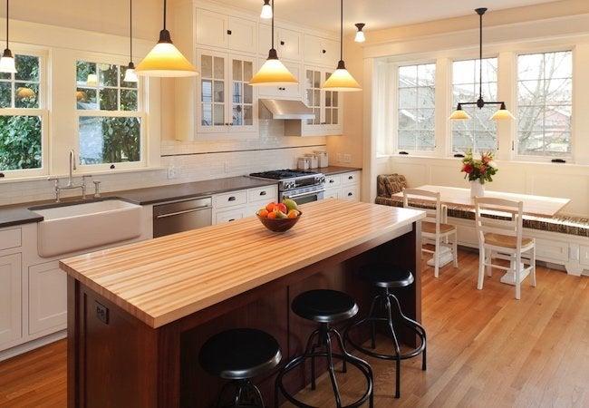 How to Arrange Furniture - Kitchen Seating