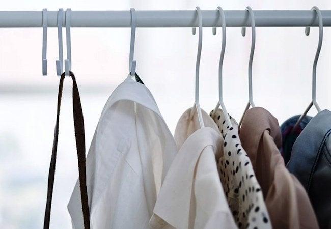 Small Closet Ideas - S Hooks