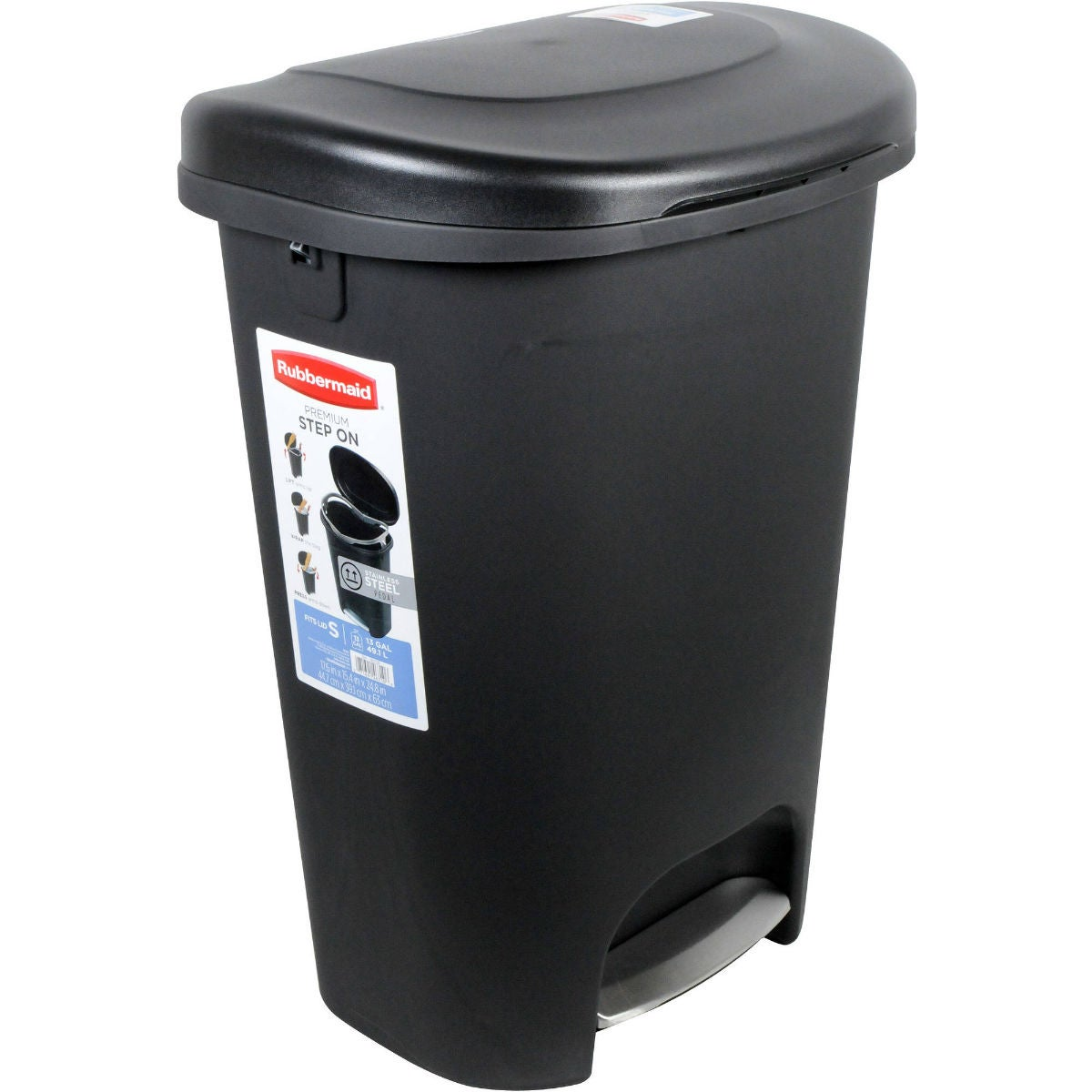 The Best Budget Kitchen Trash Can: Rubbermaid