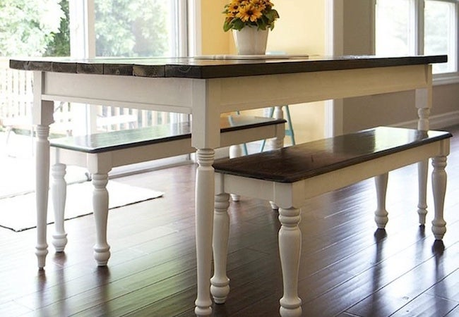 Small Dining Room Ideas - Bench Seating