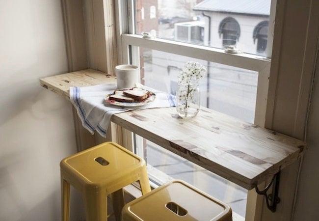 Small Dining Room Ideas - DIY Breakfast Nook