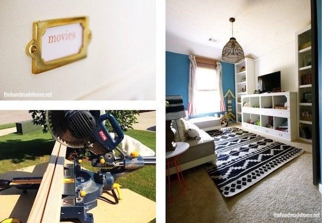 Toy Storage Ideas - DIY Cubbies