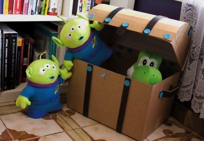 Toy Storage Ideas - DIY Toy Chest