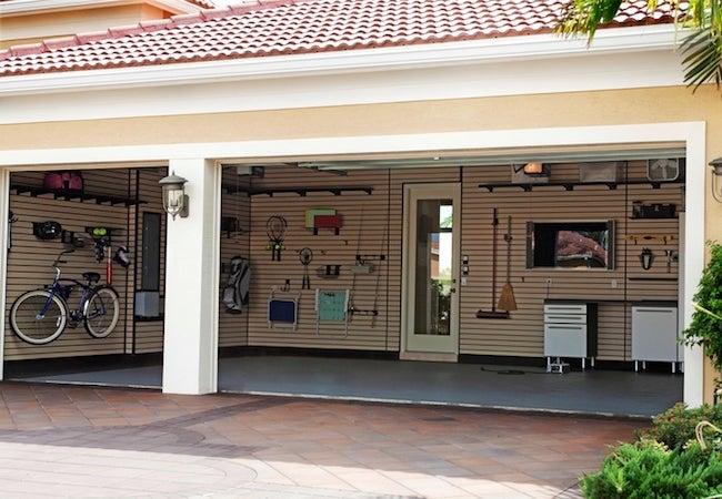 How to Organize a Garage - Wall Storage System