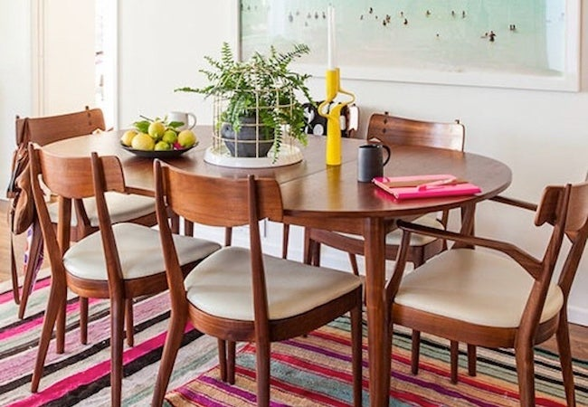 Small Dining Room Ideas - Large Scale Wall Art