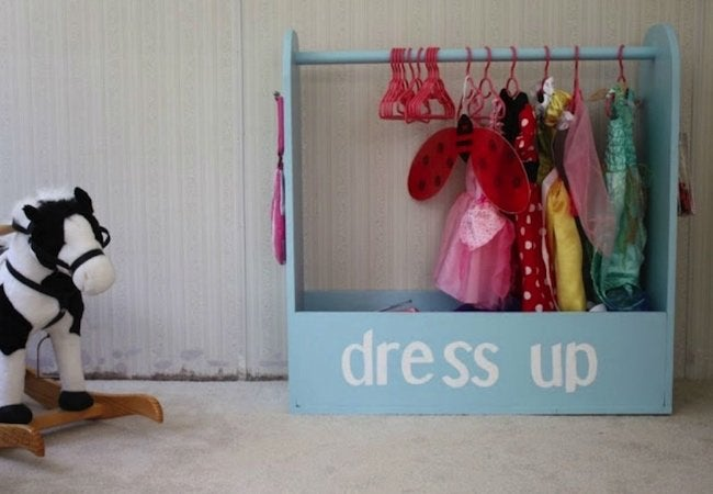 Toy Storage Ideas - Play Clothes