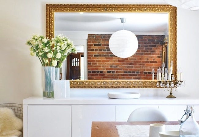 Small Dining Room Ideas - Strategic Mirror Placement
