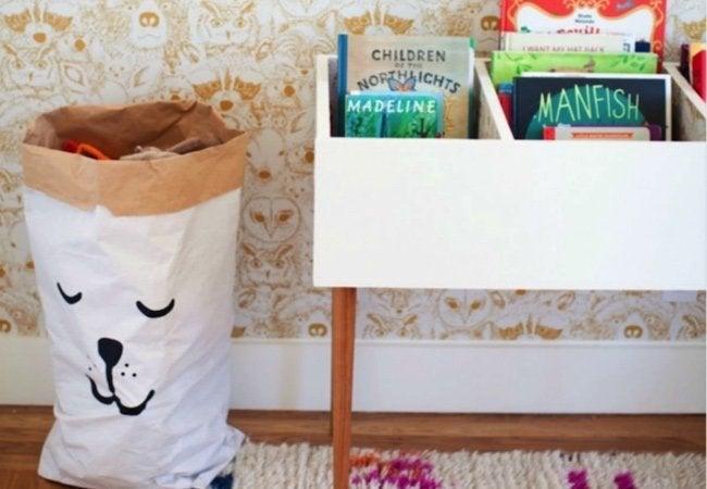 Toy Storage Ideas - Kids Books