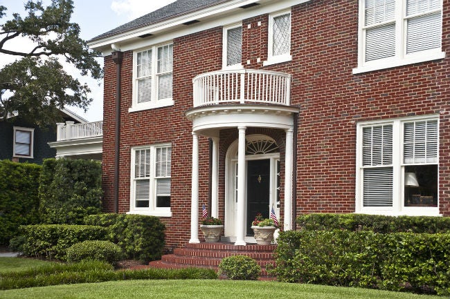 Colonial Style Brick Homes