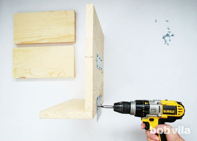 How to Make a DIY Floating Nightstand - Step 3