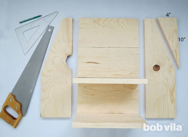 How to Make a DIY Floating Nightstand - Step 6