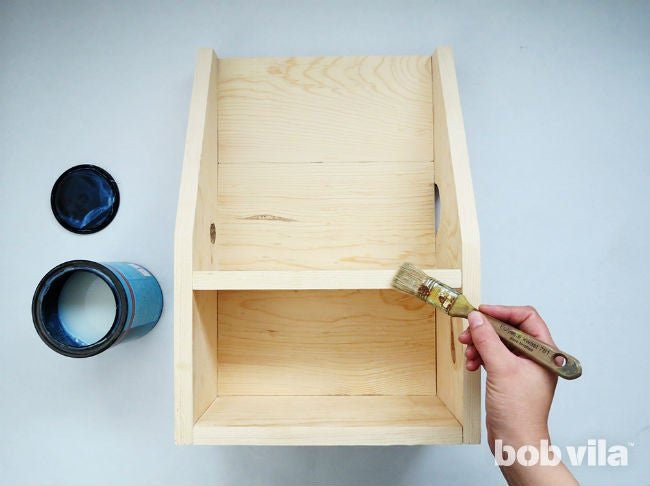 How to Make a DIY Floating Nightstand - Step 9