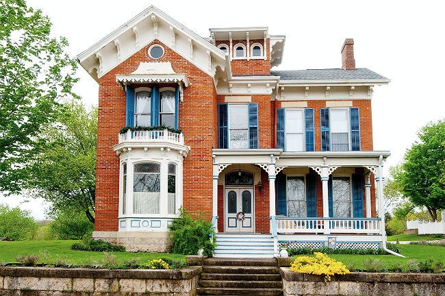Victorian Style Brick Homes