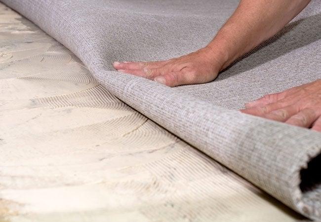 How to Remove Carpet Glue