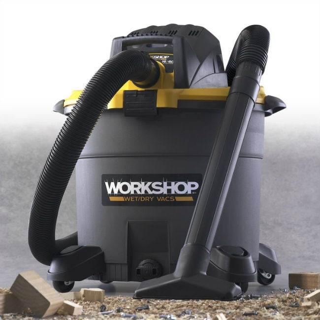 The Best Wet/Dry Vac at Any Size - Emerson 16-Gallon