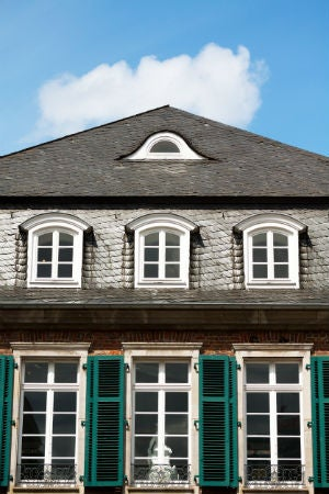 Styles of Dormer Windows - The Eyebrow Dormer