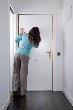 How to Fix a Hole in a Door