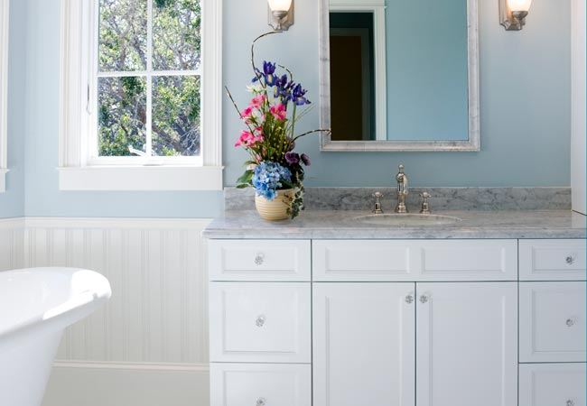 How To Paint Bathroom Cabinets Bob Vila