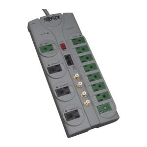 The Best Surge Protector Option: Tripp Lite 12 Outlet Surge Protector Power Strip