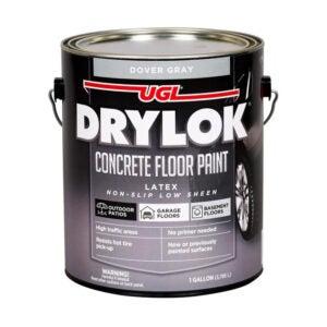 The Best Garage Floor Paint Option: DRYLOK Latex Concrete Floor Paint
