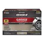 The Best Garage Floor Paint Option: Rust-Oleum Rocksolid Garage Floor Coating