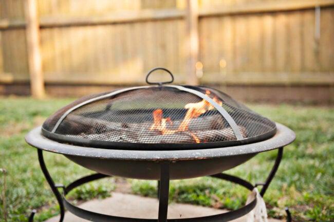 Building a Fire Pit Don't Build a Permanent Fire Pit