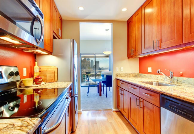 Living with a Galley Kitchen