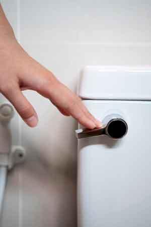 Cómo drenar un inodoro