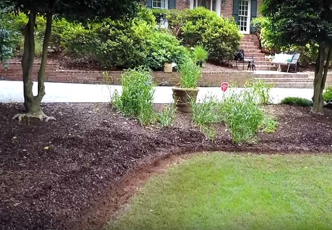 How to Make Your Own Concrete Edging