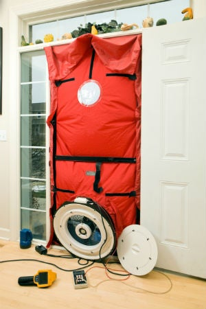 Determine Your Home's Energy Efficiency with a Blower Door Test