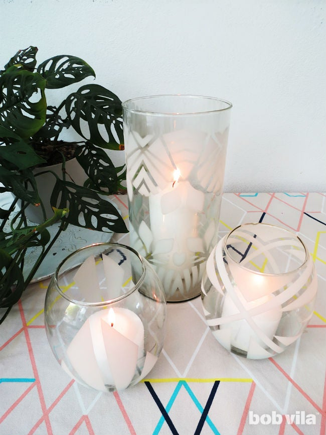 The Easiest-Ever Tutorial for How to Etch Glass