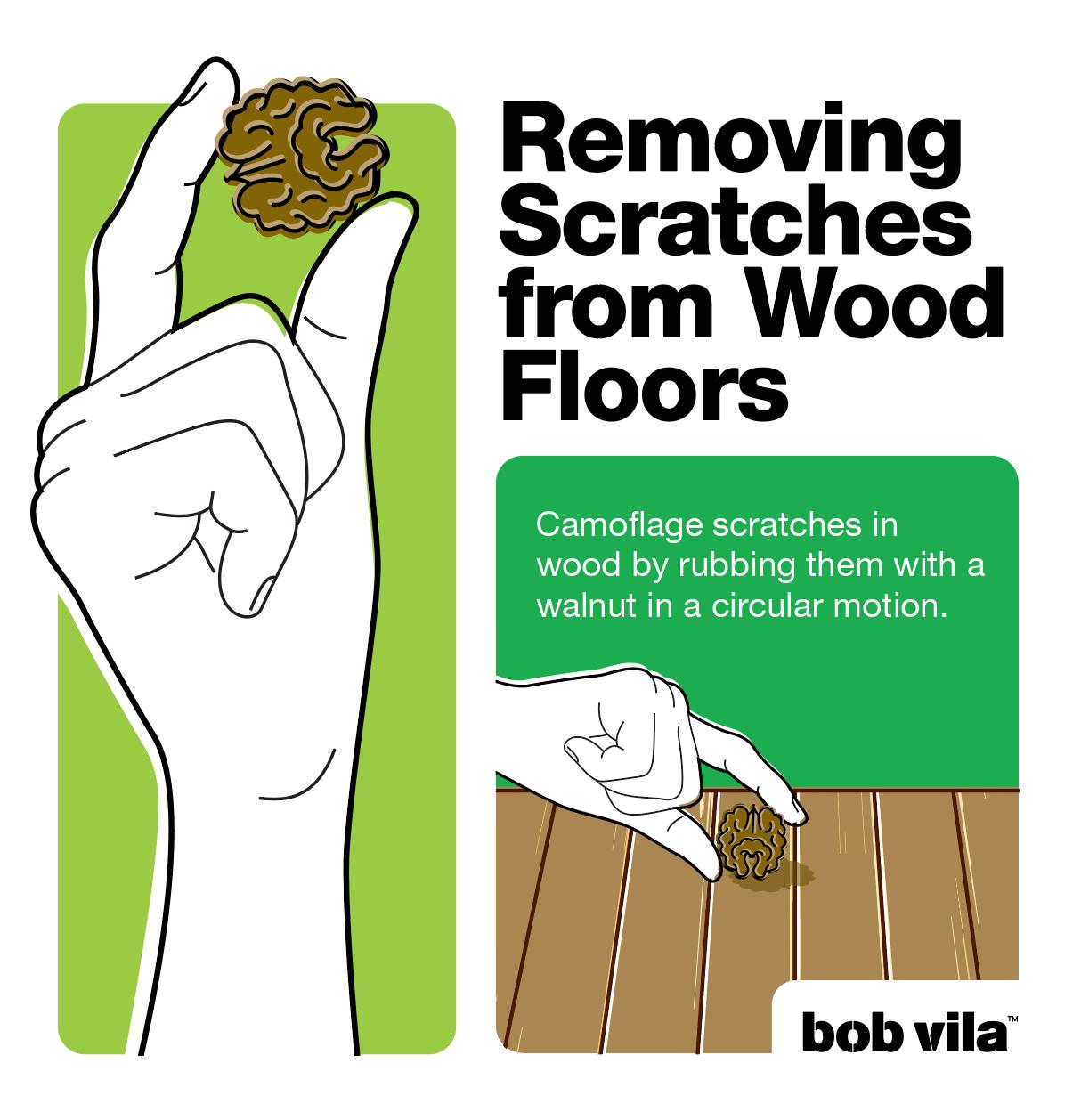 Wood Floor Scratch Repair