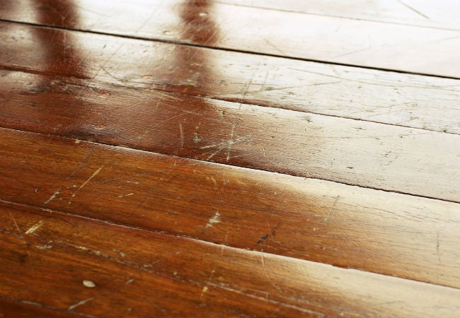 Wood Floor Scratch Repair