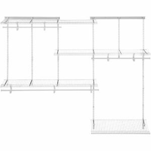 The Best Closet Systems Option: ClosetMaid 22875 ShelfTrack Adjustable Closet