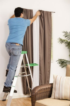 How High to Hang Curtains, Solved!