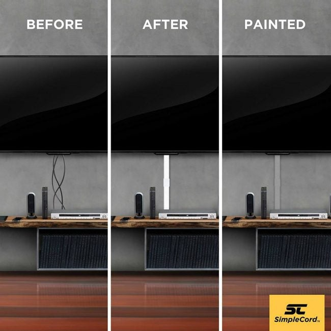 Cord Covers - How to Hide TV Wires