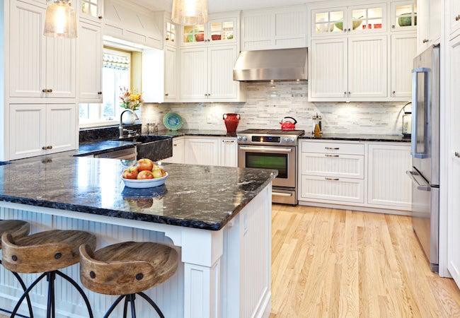 Kitchen Peninsula Layout