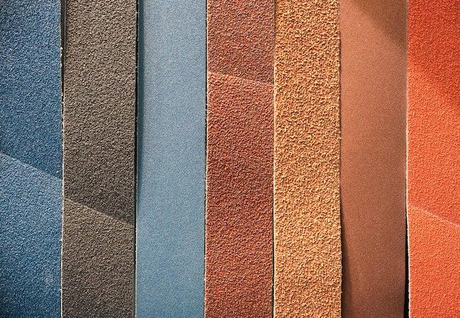 Sandpaper Grit Numbers