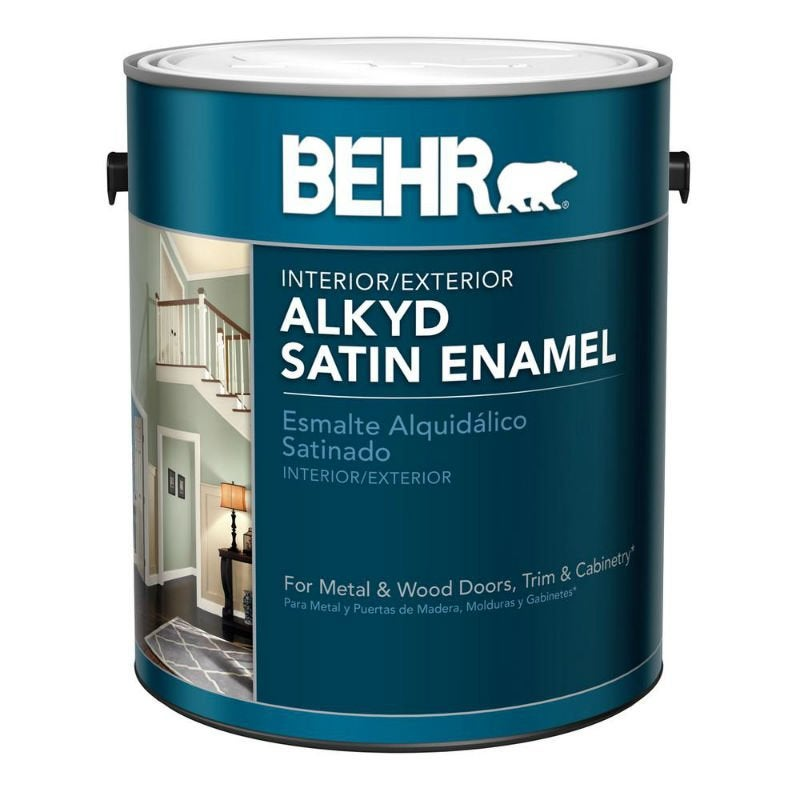 Best Interior Paint Options According to Happy DIYers: Behr Alkyd Interior/Exterior Paint