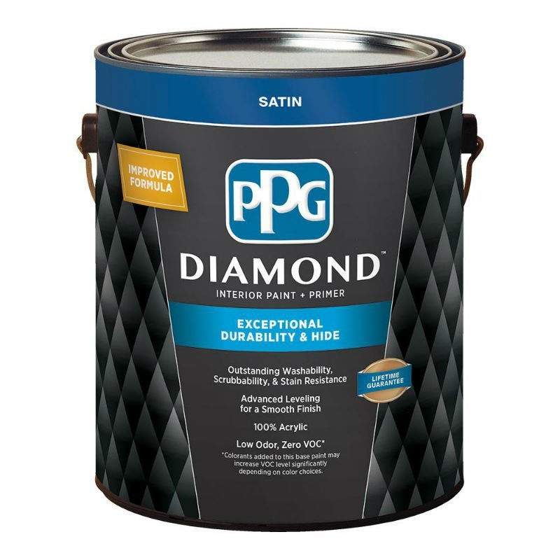 Best Interior Paint Options According to Happy DIYers: Glidden Diamond