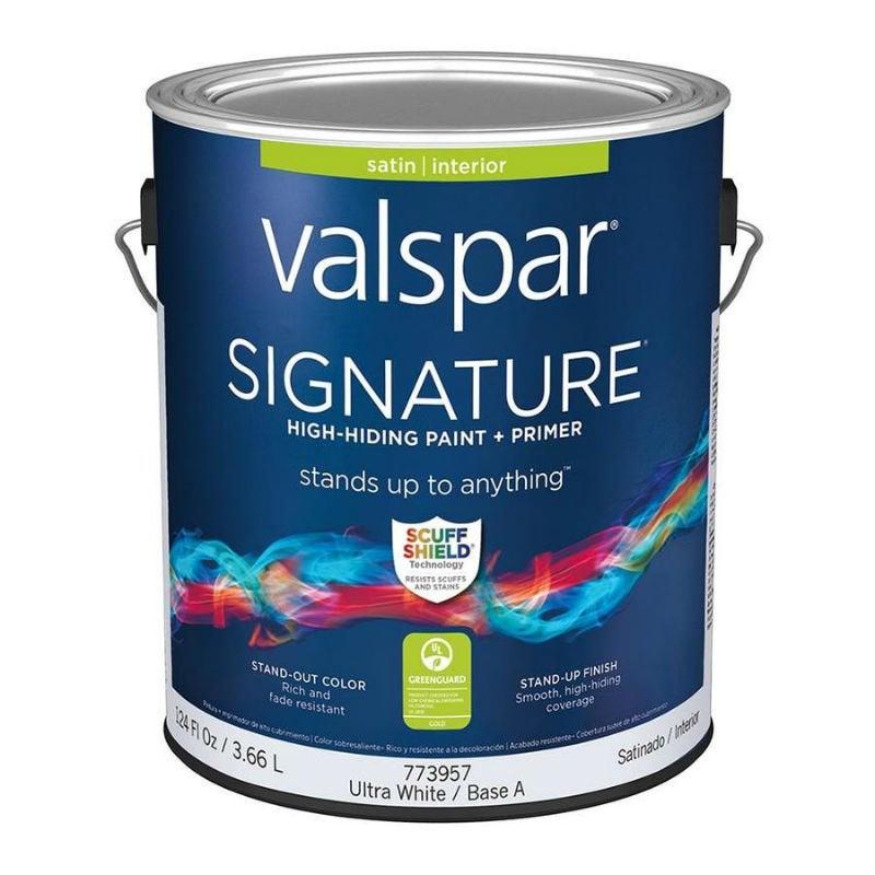 Best Interior Paint Options According to Happy DIYers: Valspar Signature