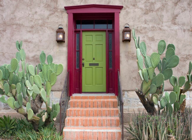 best paint for front door