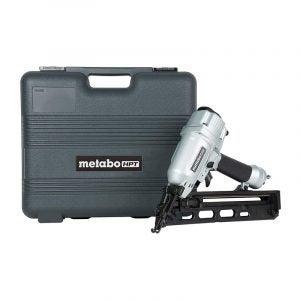 The Best Nail Gun Option: Metabo (Hitachi) 15-Gauge Finish Nail Gun