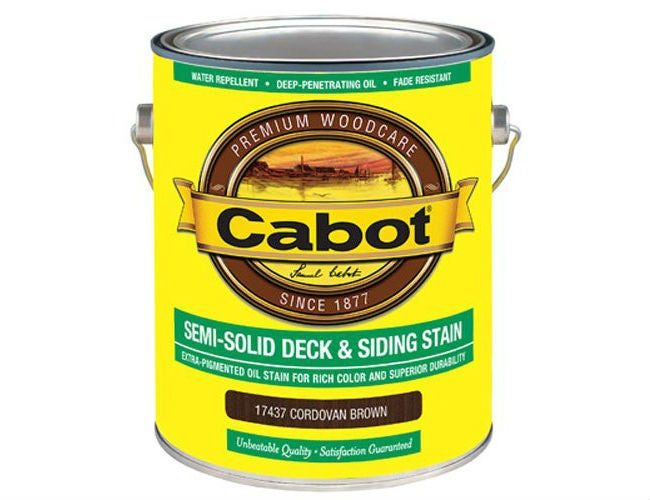 Best Deck Stain for Heavier Coverage: Cabot
